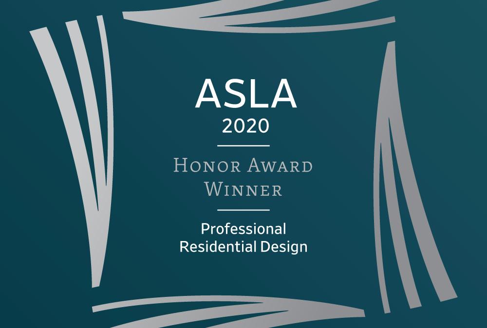 ASLA Awards 2020