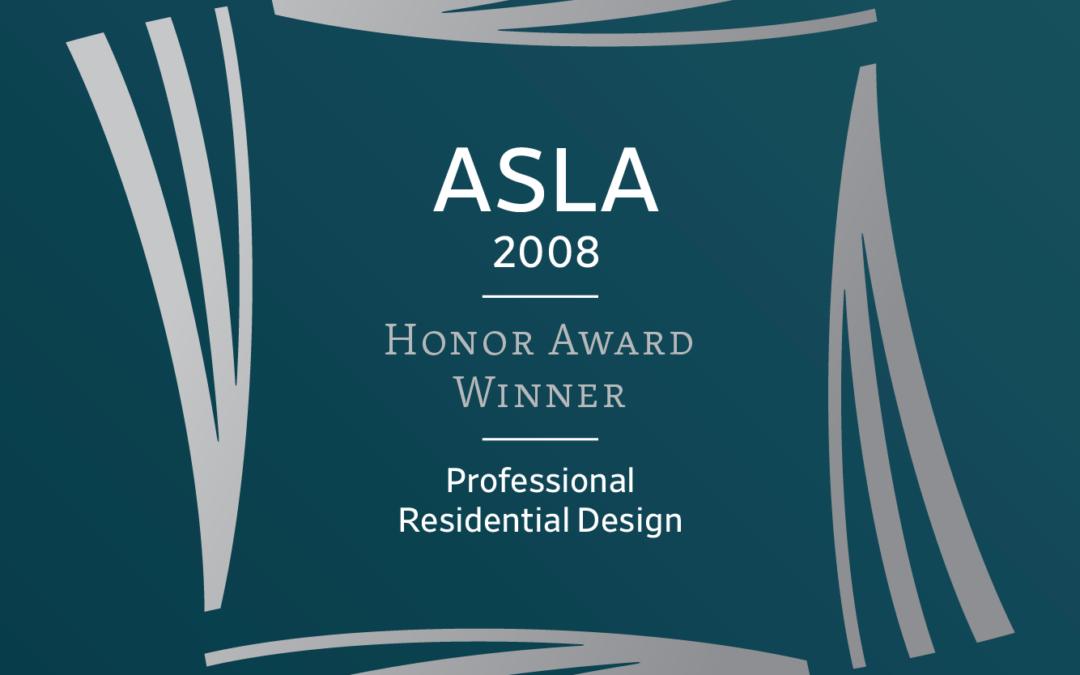 ASLA Awards 2008