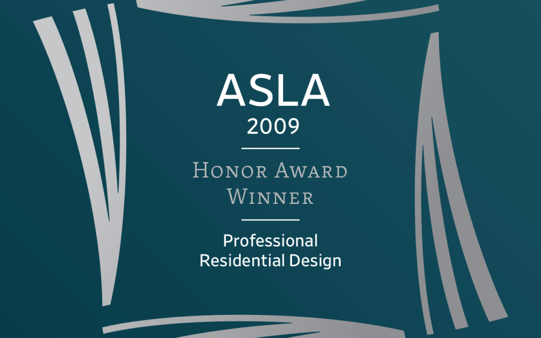 ASLA Awards 2009